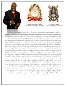 Pastor Bio Template by Freedom Church And Ministries Bishop S Bio