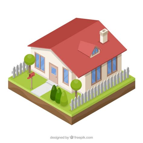 vector for free use 3d house icon 3d style house vector free download