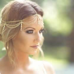 gold headpiece boho gold draping chain fringe rhinestone hair cuff arabian jewellery