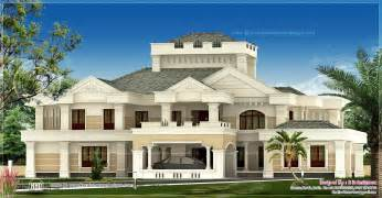Luxury Mansion Plans Super Luxury Kerala House Exterior House Design Plans