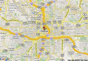 map of 8 motel atlanta world congress center atlanta