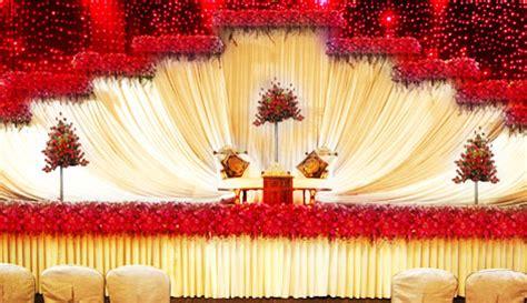 venu's wedding planners stage decorations kerala, india