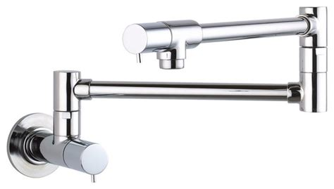 hansgrohe 04057860 talis s wall mount pot filler in steel
