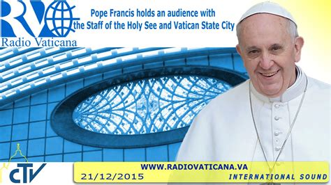 papa francesco santa sede papa francesco discorso ai dipendenti della santa sede e