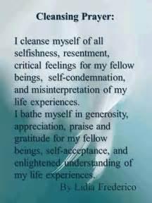cleansing prayer god prayer spiritual