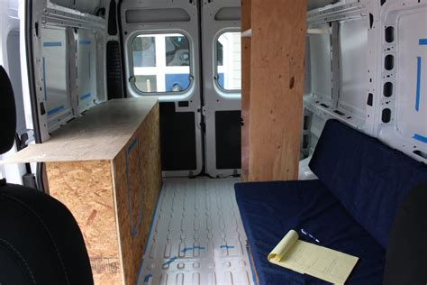 Best Plywood For Kitchen Cabinets our promaster camper van conversion interior layout