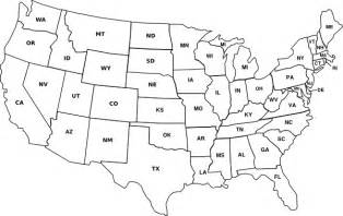 united states map state abbreviations usa map with state abbreviations clip at clker