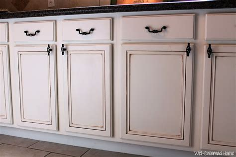 how hard is it to paint kitchen cabinets painted kitchen cabinets chalk paint well groomed home
