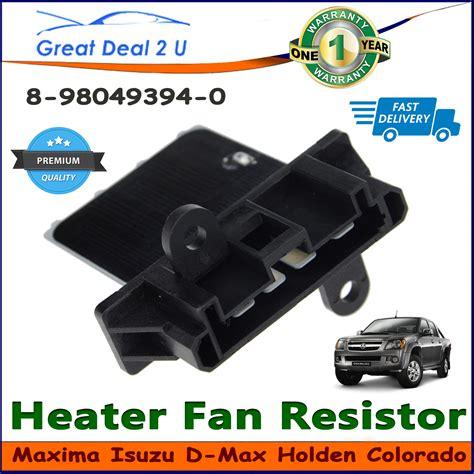 radiator fan resistor blower motor heater fan resistor for holden colorado isuzu
