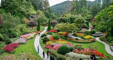Day Tours To Butchart Gardens From Vancouver Garden Ftempo Porters Flowers Garden City Ks