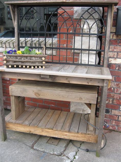 potters benches wrought iron potting bench bench pinterest