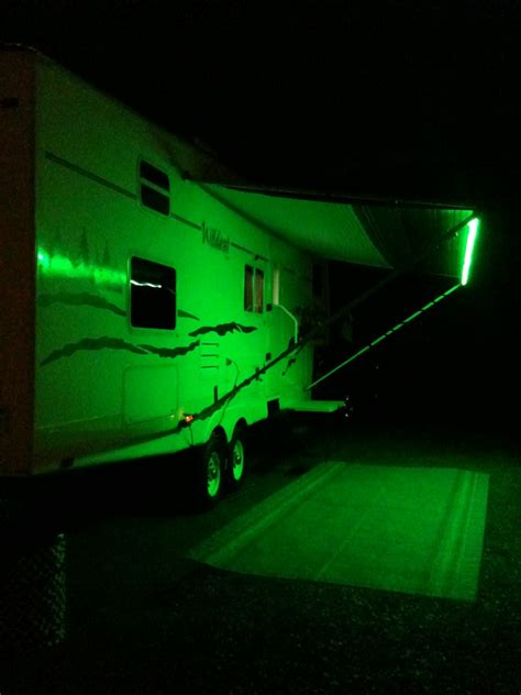 trailer awning lights rv awning party lights led remote control led usa ebay