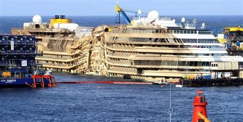 why did the costa concordia sink costa concordia finally upright what s next cruise