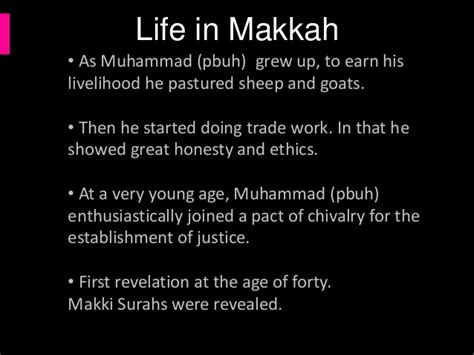 short biography of muhammad saw short essay on the life of holy prophet