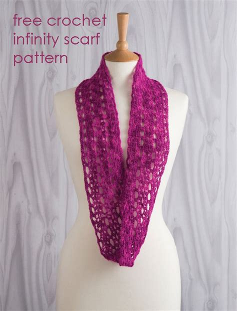 pinterest pattern for infinity scarf free crochet infinity scarf pattern crochet scarves