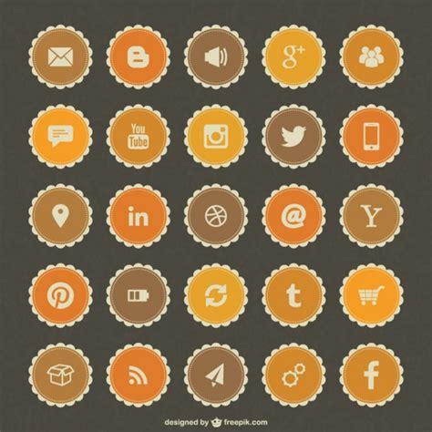 scarica layout instagram social media badge libero vettore scaricare vettori gratis