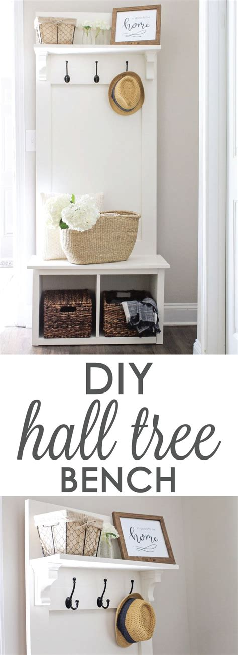 diy hall tree bench best 25 hall trees ideas on pinterest entryway hall
