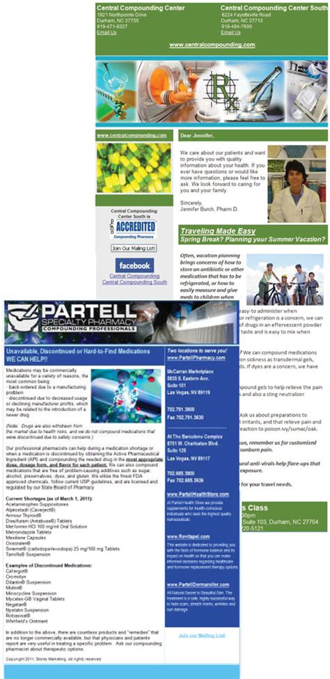 Patient Newsletter Storey Marketing Email Newsletters