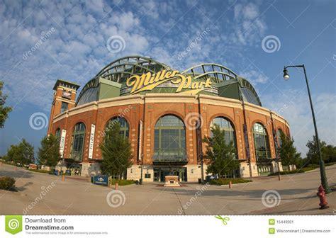 miller park milwaukee brewers mlb baseball editorial photo
