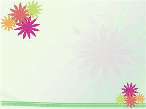 淡雅花朵图案ppt模板 植物ppt模板 ppt模板 素彩图