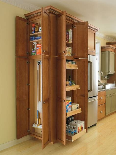 utility cabinet for kitchen thomasville cabinetry s utility cabinets provide maximum
