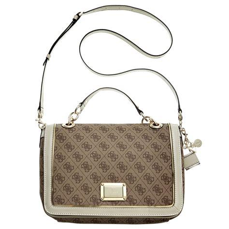 Guess Bag lyst guess guess handbag reama top handle flap shoulder
