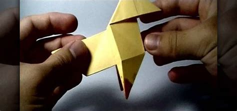 Heavy Origami Bird - how to origami a pajarita bird featured on ps3 s heavy