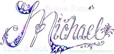 tattoo lettering michael name mike michael name tattoo names and letters