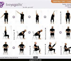 chair poses for seniors basic poses for beginners at home archives