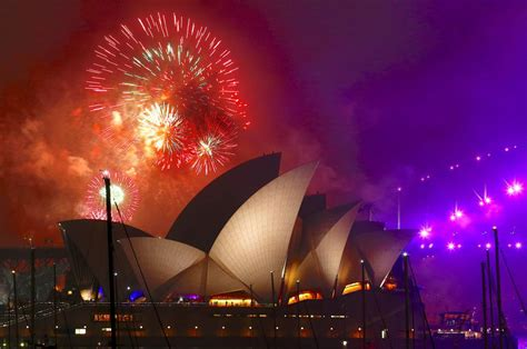 happy new year 2018 photos and videos of celebrations