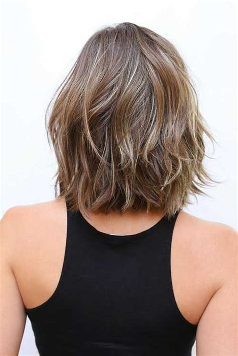 mid length hair cuts longer in front 20 short shoulder length haircuts shoulder length