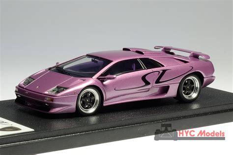 Lamborghini Diablo Sv Purple Eidolon Em252hyca Lamborghini Diablo Sv My99