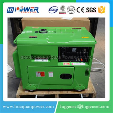 home use electric soundproof generator 5kw 220v buy