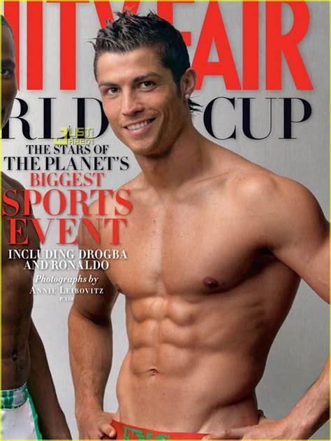 shirtless cristiano ronaldo covers vanity fair june 2010