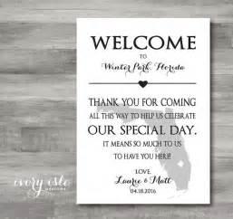 diy wedding favor state map welcome wedding weekend