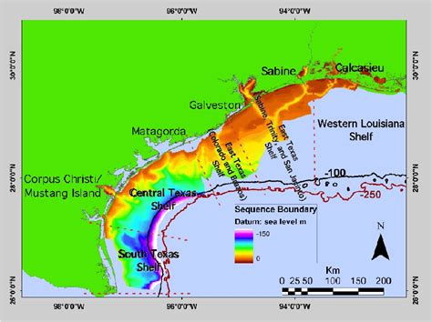 Gulf Of Mexico Continental Shelf by Click On Each Location For More Information Check Back