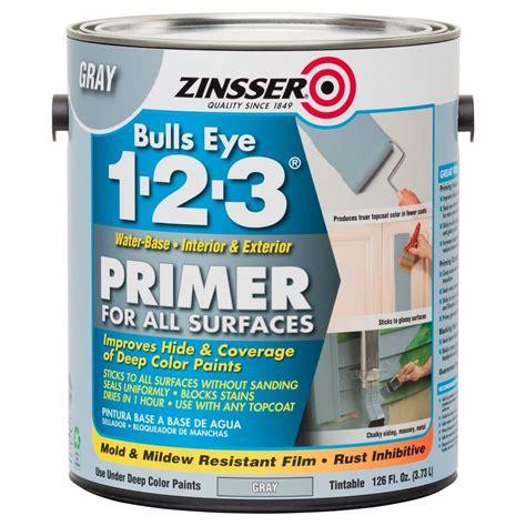 exterior house paint primer zinsser bulls eye 1 2 3 126 oz water based interior