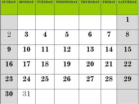 calendar template for children calendar for calendar template