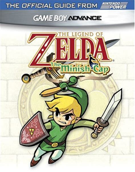the legend of official sticker book nintendo books official nintendo the legend of minish cap player s