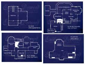 Halliwell Manor Floor Plans Charmed Manor Floor Plans Find House Plans