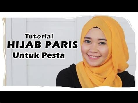 tutorial hijab untuk santai liburan hijab tutorial cara memakai jilbab paris segi empat
