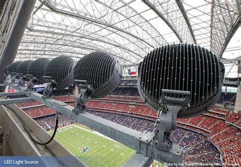 Musco Sports Lighting by Nrg Stadium Houston Texans Musco Sports Lighting