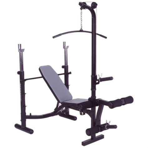 lat bench impex 174 powerhouse club incline bench with lat pulley