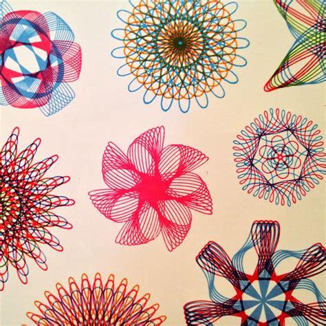 Spirograph Pattern Drawing Design spirograph drawing patterns zentangles doodles