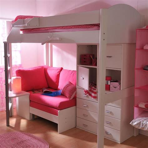 bunk bed sofa and desk high sleeper loft beds with sofabed futon sofa desk