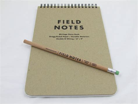 how to to on pad field notes brand steno pad review