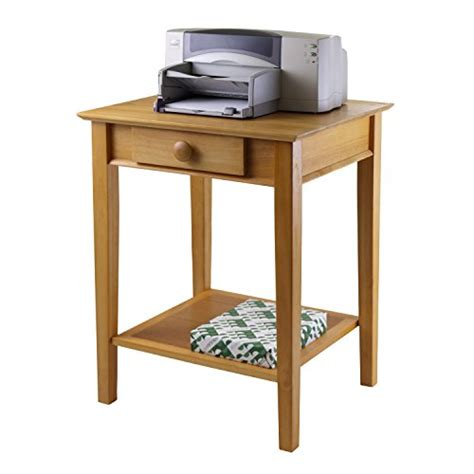 desk with drawers and printer shelf item description