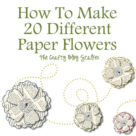 How To Make Book Paper Flowers - august 15 2012 by 45 comments