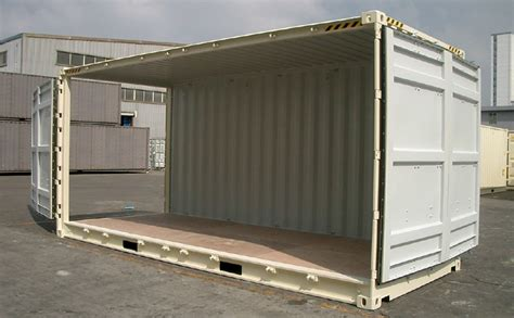 Box Container Tradecorp pin 20ft flat rack container on