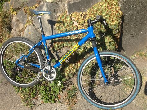 cannondale mountain bike volvo race team edition  sale